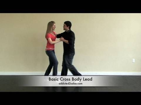 How to do the cross body lead move in salsa dancing for salsa dance beginners. http://addicted2salsa.com This salsa dance lesson is from Pocket Salsa by addi...