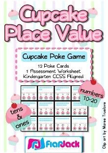 FREE Cupcake Place Value Game!
