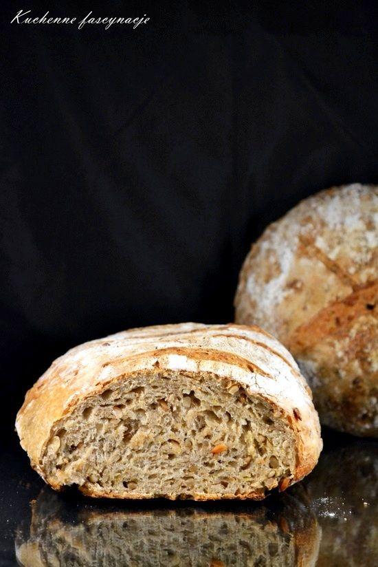 Chleb z karmelizowanym porem
