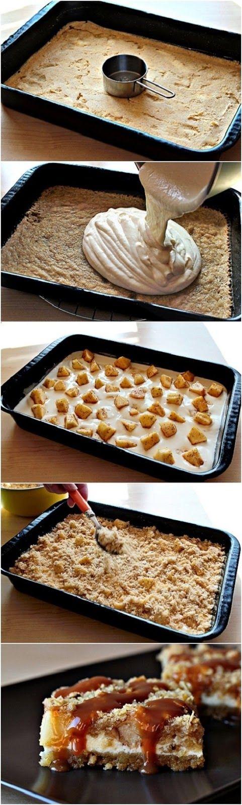 Inspiring snaps: Caramel Apple Cheesecake Bars