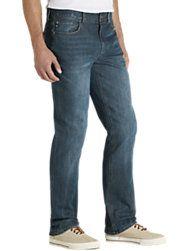 Joseph Abboud Vintage Blue Rinse Slim Fit Jeans