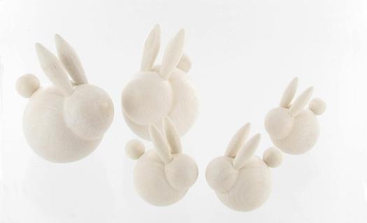 Easter bunnies by Aarikka