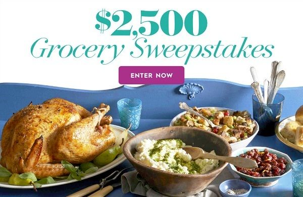 www bhg com/grocery18: Win $2500 cash for grocery shopping