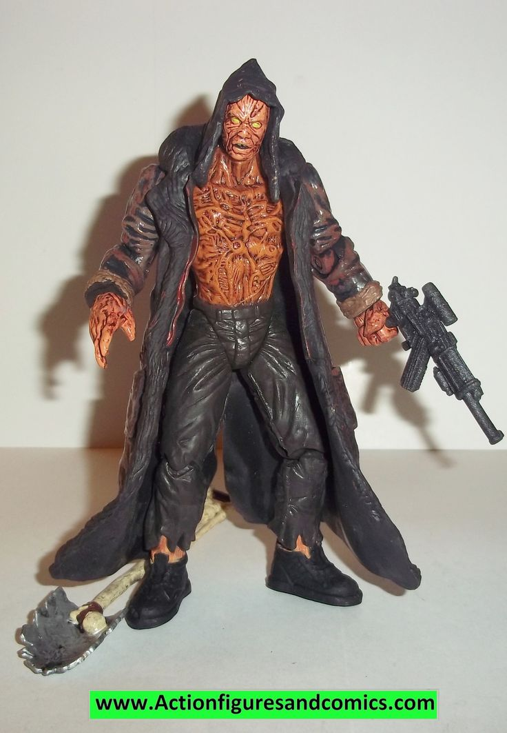 Spawn BURNT SPAWN 1997 movie complete todd mcfarlane toys action figures