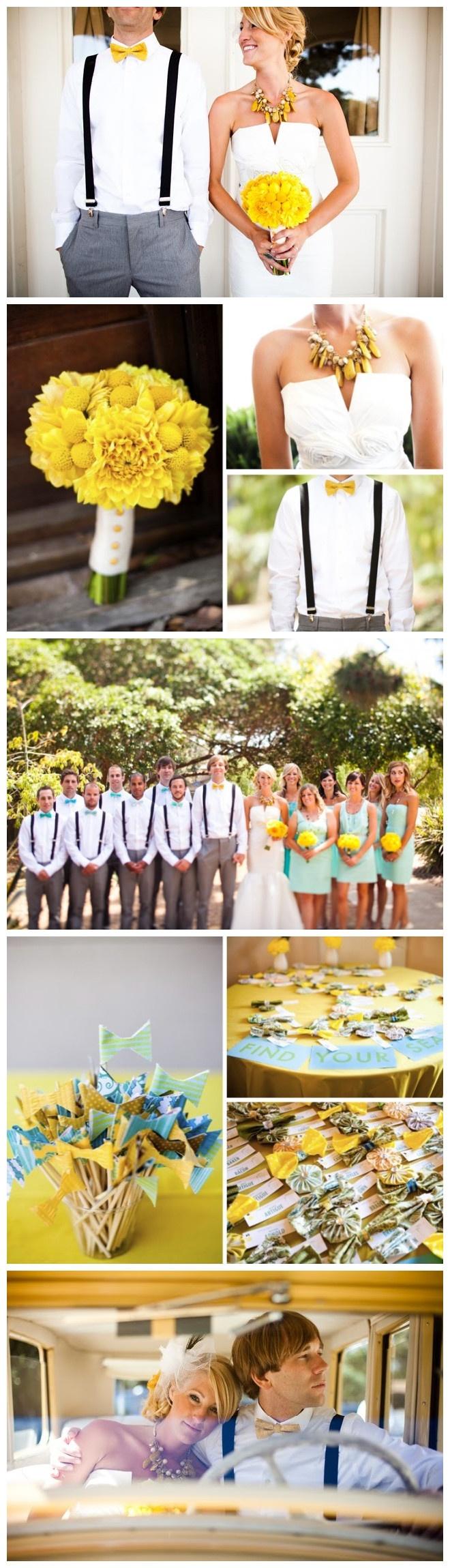 #yellow theme wedding photos