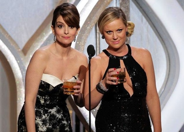 Amy Poehler, tina fey golden globes funniest moments