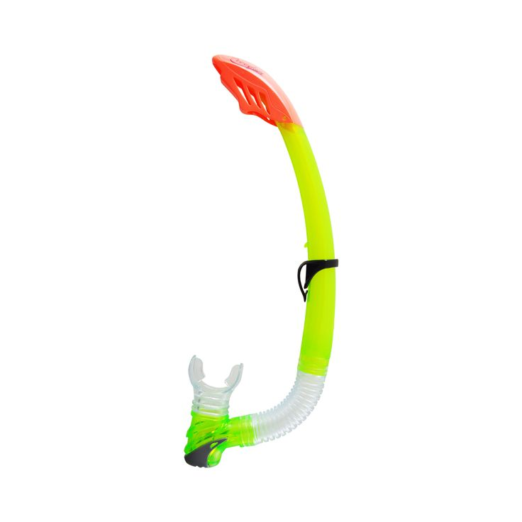 Snorkel with silitex mouthpiece – J valve Design. Large bore with splash guard. • Silitex mouthpiece – J valve Design. • Large bore with splash guard. • Quick release snorkel keeper.