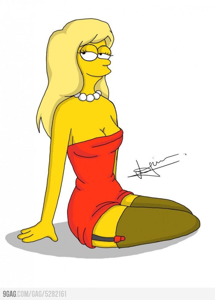 Grown-up Lisa Simpson | Lisa simpson, Simpsons drawings