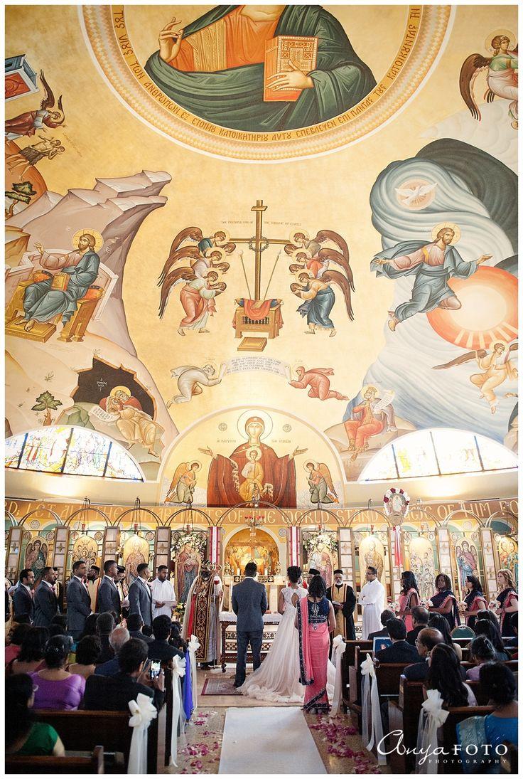 NJ Wedding Photography, Ceremony Decor, St. Paraskevi Greek Orthodox Church