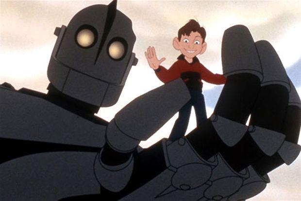 """The Iron Giant"" (El gigante de hierro)"