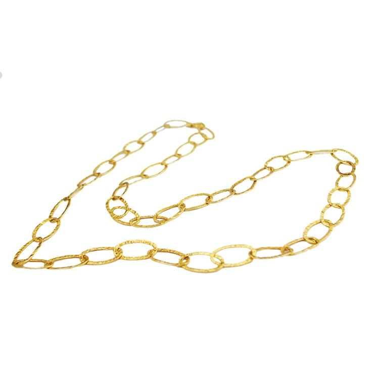 Italian Gold Chain Necklace