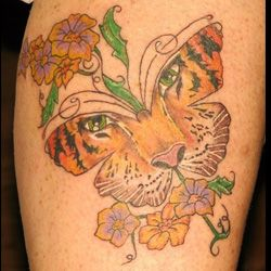Tiger Tattoo Meanings | iTattooDesigns.com