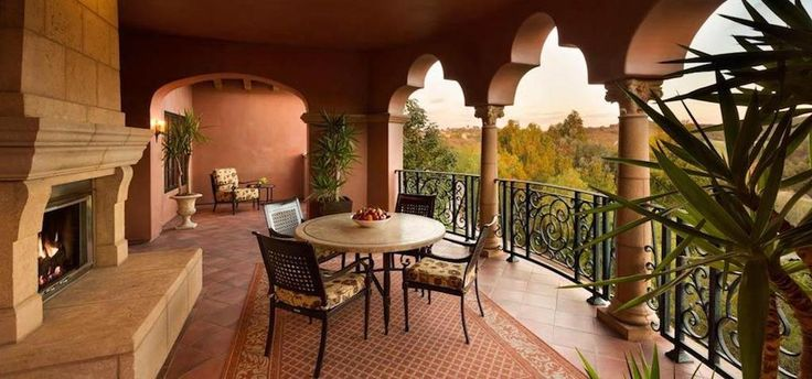 Manchester Suite Balcony at the Fairmont Grand Del Mar