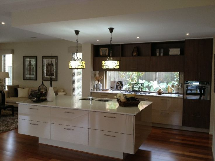 Island Bench lights - Metricon Home
