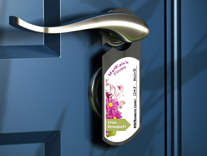 52 best Door Hangers Printing images on Pinterest Die cutting