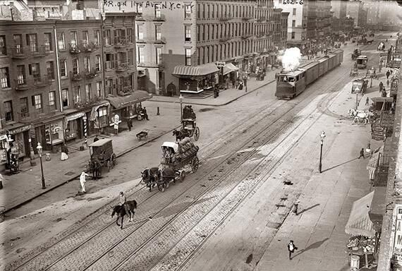 New York City, 1909