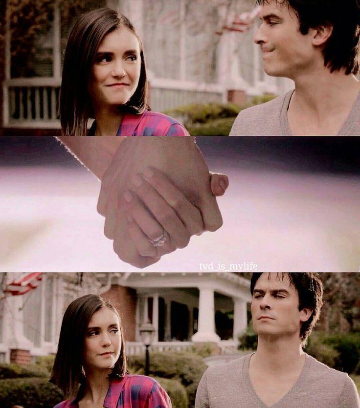 "#TVD 8x16 ""I Was Feeling Epic"" - Elena and Damon"