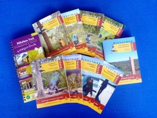 Guidebook 1 to 8 with Handbook plus the Accommodation & Services Guide Combo | Bibbulmun Track