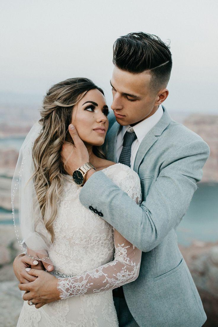 Photography by Paris Tews – favorite modst wedding dresses at alta moda