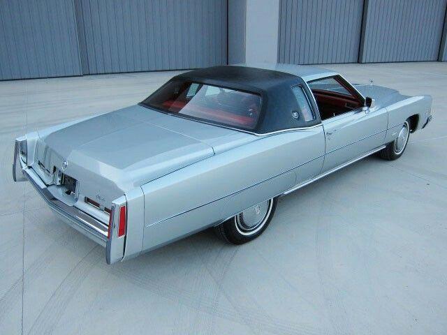 70 best Cadillac Eldorado 197174 images on Pinterest  Cadillac