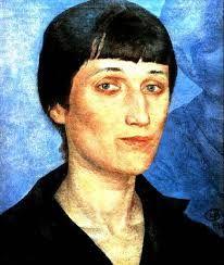 Петров-Водкин портрет Анны Ахматовой