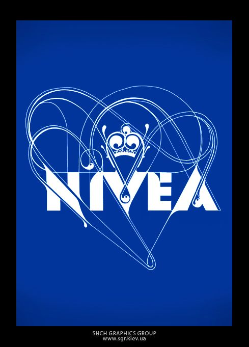 nivea by SHCH graphics group , via Behance