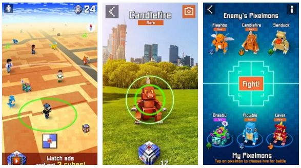 Pixelmon GO - catch them all MOD APK Unlimited Money Terbaru