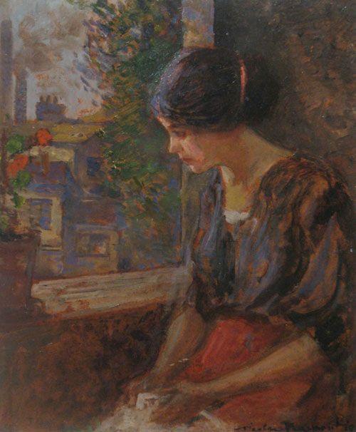 Nicolae Vermont - La fereastra
