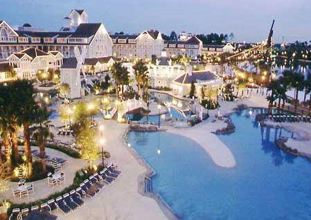 Yacht Club Resort, Disney World, Orlando, Florida...magical!