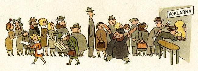 Book illustration, Czechoslovakia