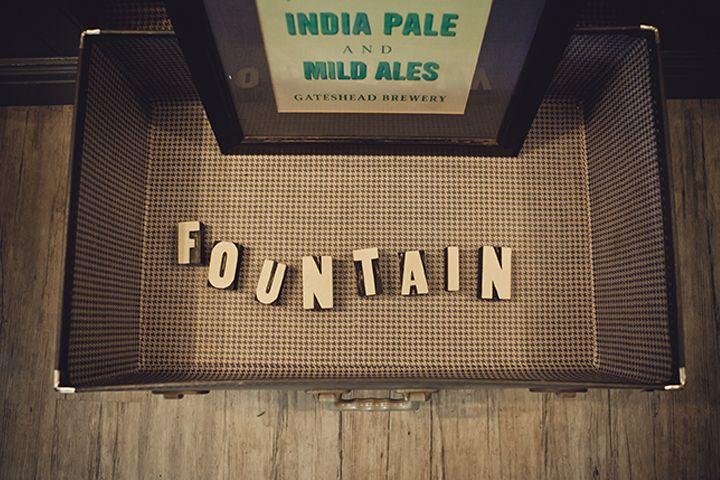 The Fountain, Edinburgh, Bar Design