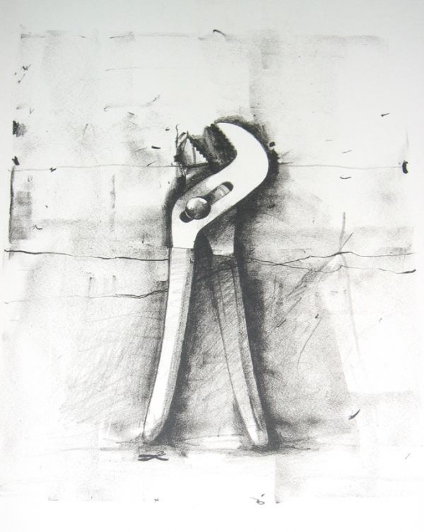 Jim Dine-lithograph