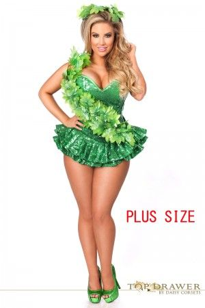 sexy plus size costumesplus size halloween costumesplus size pirate costumeplus - Green Halloween Dress