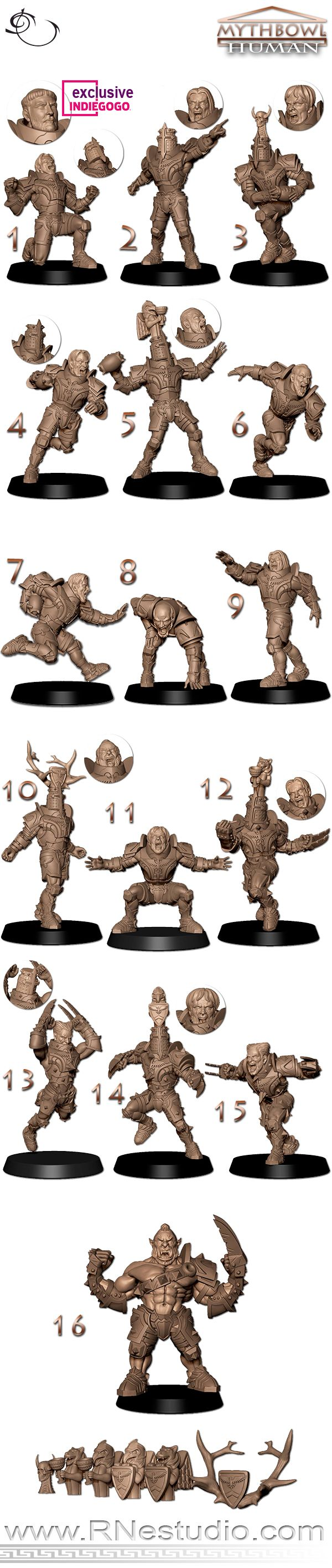Help us to bring you the most amazings Humans&Orcs miniatures ever seen on a fantasy football field. | Crowdfunding is a democratic way to support the fundraising needs of your community. Make a contribution today!