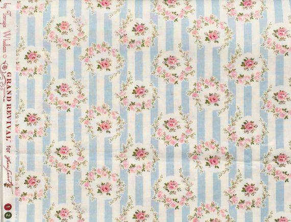 A piedi nudi Rose Tanya Whelan Wallpaper striscia blu di claydeal