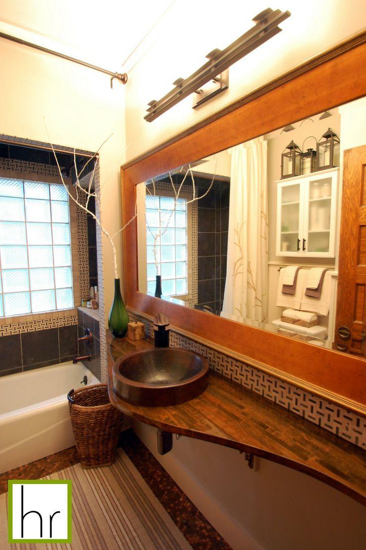 * Happyroost Interiors: Bathroom Countertop Tutorial