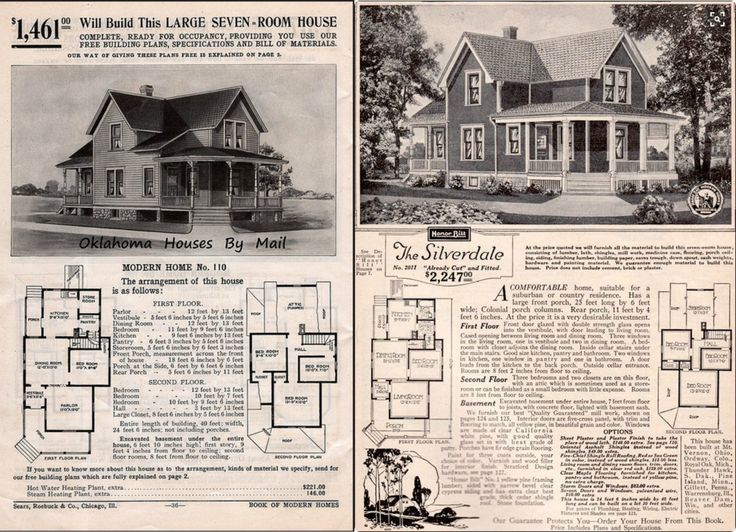 sears silverdale 1908110 1909 1911110 1912 victorian house plansvintage - 1919 House Plans