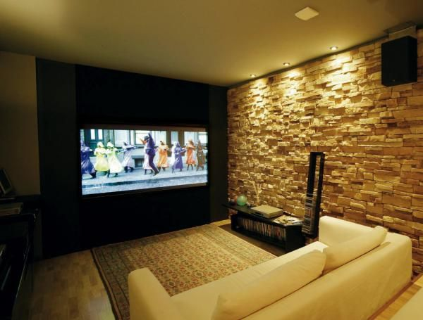 38 Awesome home theater interior design images