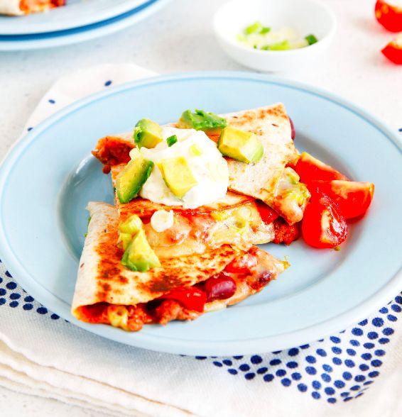 Healthy Mexican Quesadilla