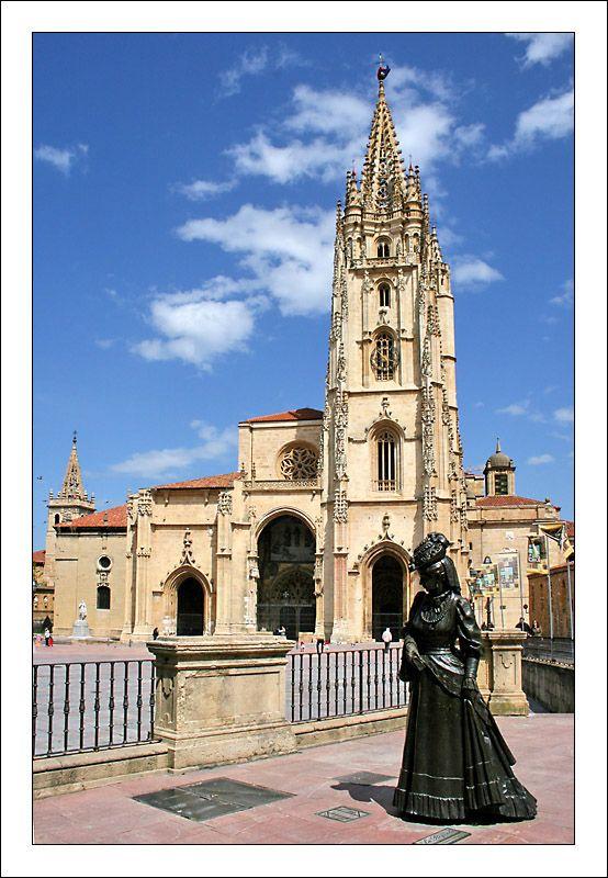 La Regenta. Catedral. Oviedo, Asturias. Spain.