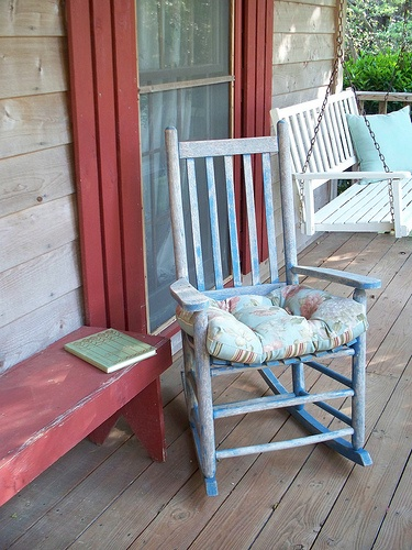 Great Old Rocking Chair Place To Read And Relaxq