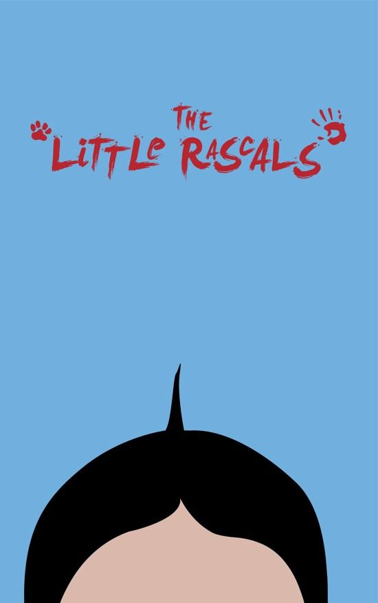 The Little Rascals (1994) ~ Minimal Movie Poster by Dylan Winters #amusementphile