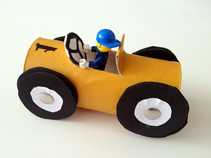 52 Best Papprollen Autos Images On Pinterest Cars Doll And Paper
