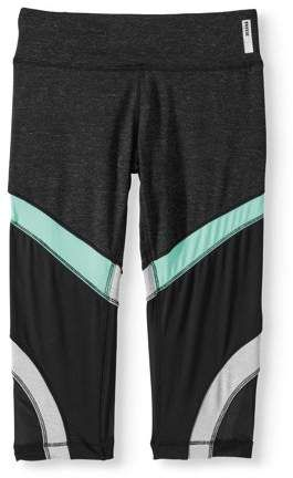baf6e3d50f RBX Girls' Colorblock Active Capri Leggings | Products | Gym shorts womens,  Gym men, Capri leggings