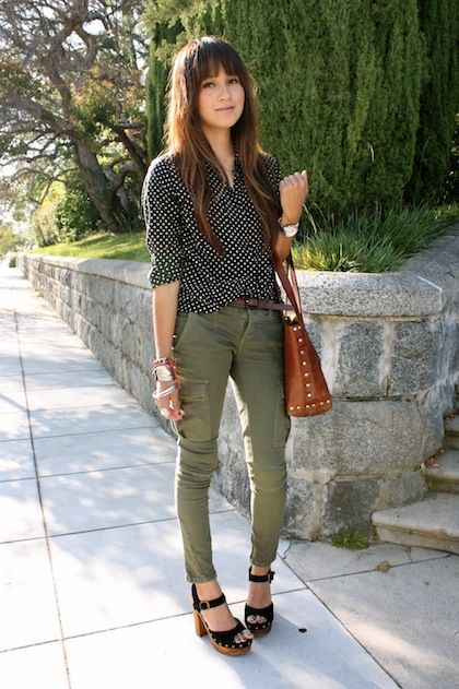 Julie Sarinana of Sincerely Jules... <3 the look but especially the shoes!