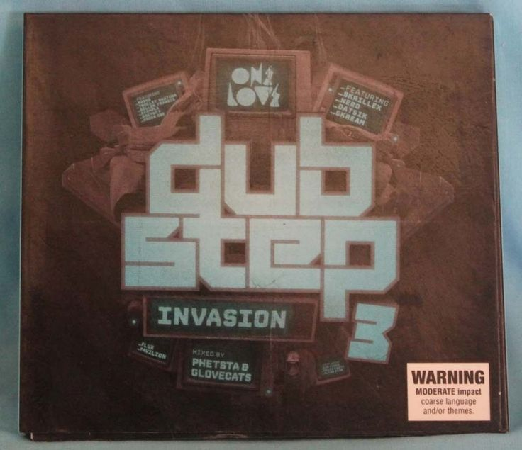 Dub Step Invasion 3 two Disc Cd Mixed by Glovecats & Phetsta in Music, CDs & DVDs | eBay!