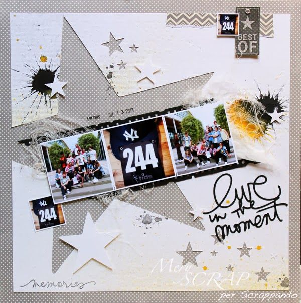 #papercraft #scrapbook #layout      MerySCRAP: LO IN CORNICE