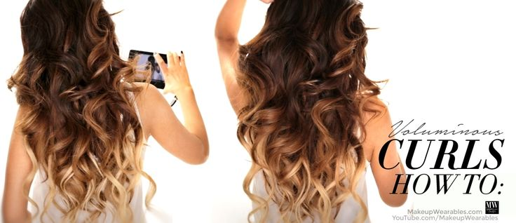 Hair Curling Styles: Hair Tutorial; How To Curl Your Hair To Get Big