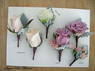 White & pastel wedding flowers
