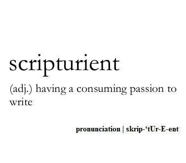 My love of words: to hear them, speak them, learn & understand them & define them as to define myself.